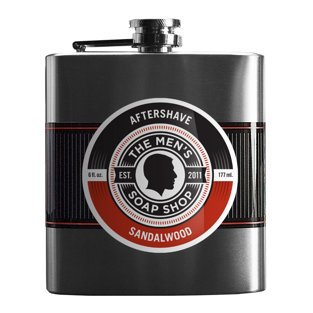 Aftershave Splash Sandalwood - The Men's Soap Shop