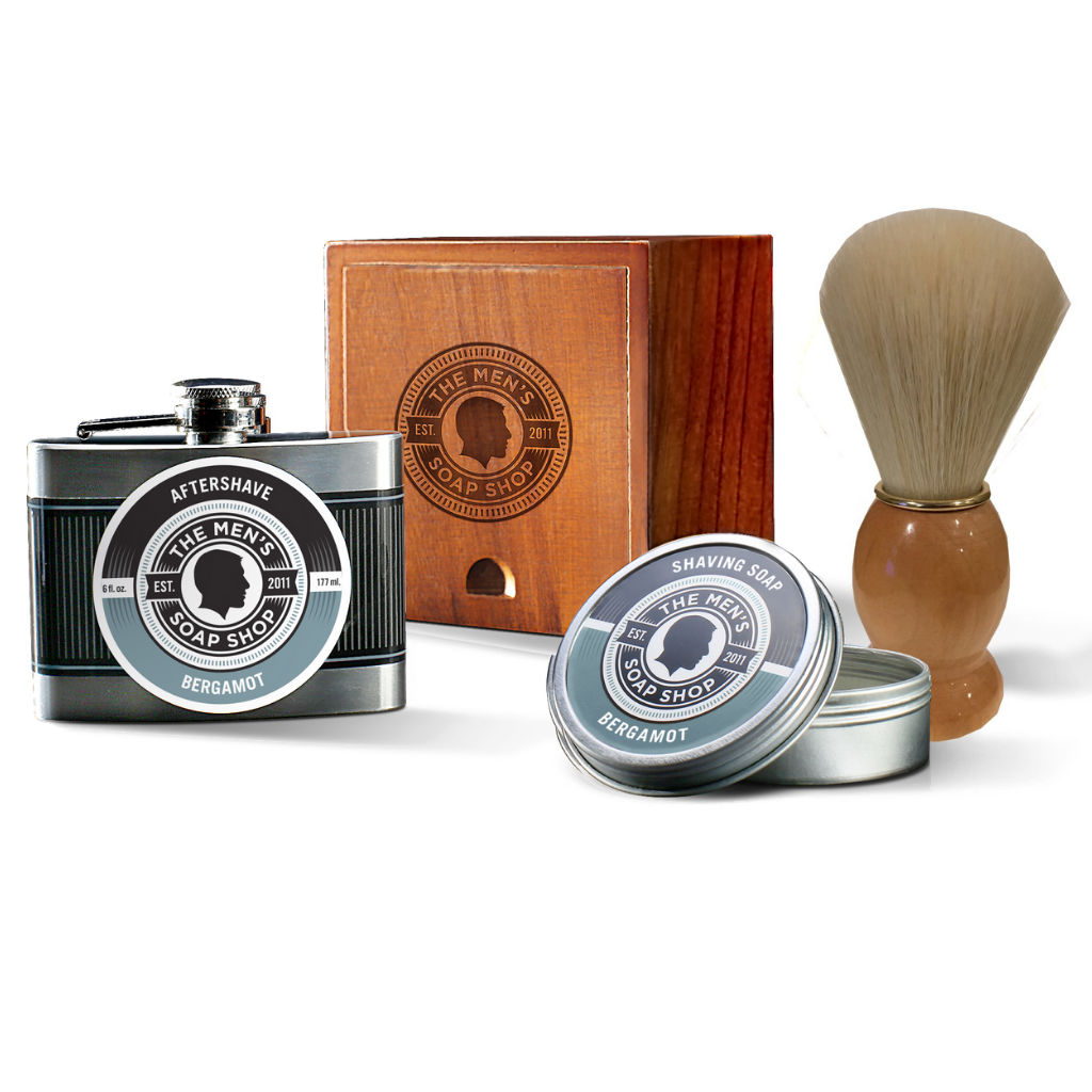 Shaving Alpha Set Bergamot - The Men's Soap Shop