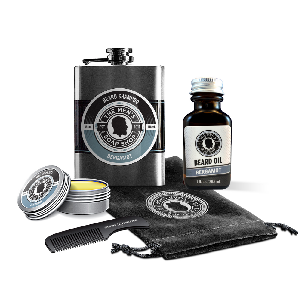 Beard Care Set Bergamot - The Men's Soap Shop