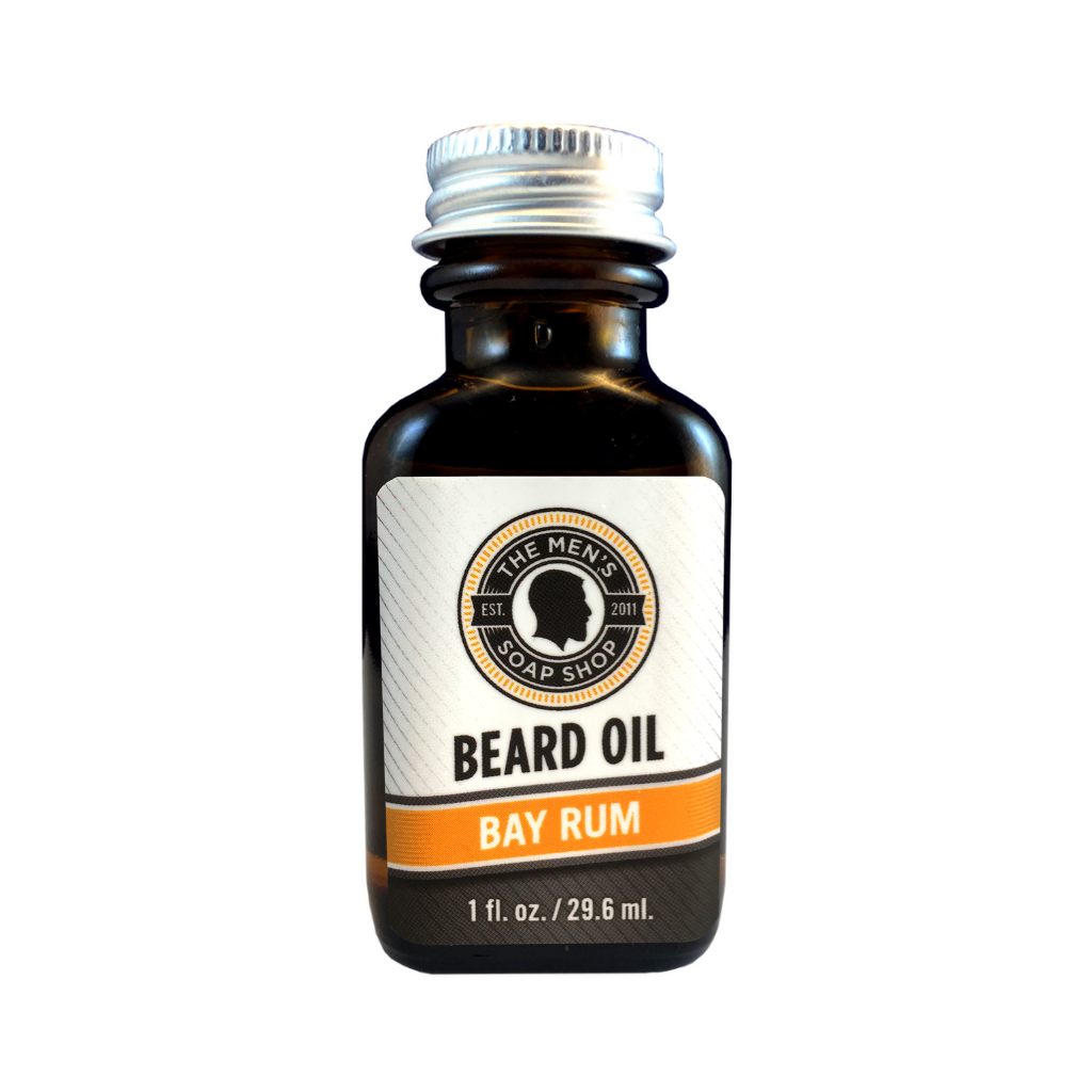 Beard Oil Bay Rum - The Men's Soap Shop