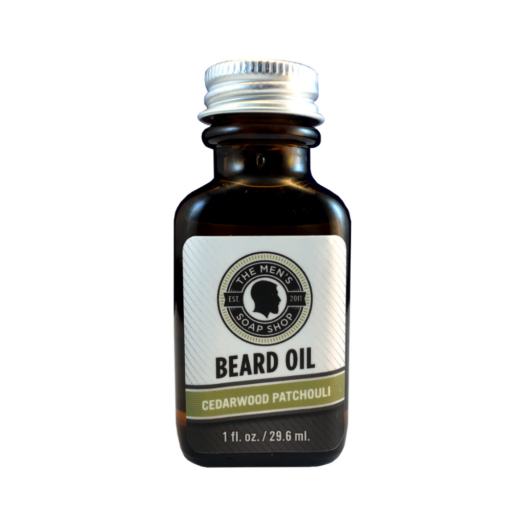 Beard Oil Cedarwood Patchouli - The Men's Soap Shop