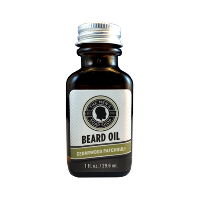 Beard Care Set Cedarwood Patchouli - The Men's Soap Shop