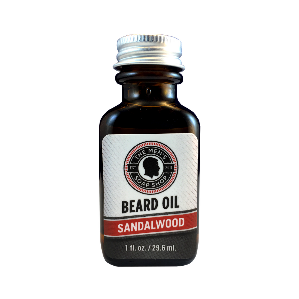 Beard Oil Sandalwood - The Men's Soap Shop