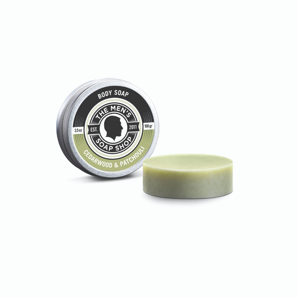 Body Soap Cedarwood and Patchouli - The Men's Soap Shop