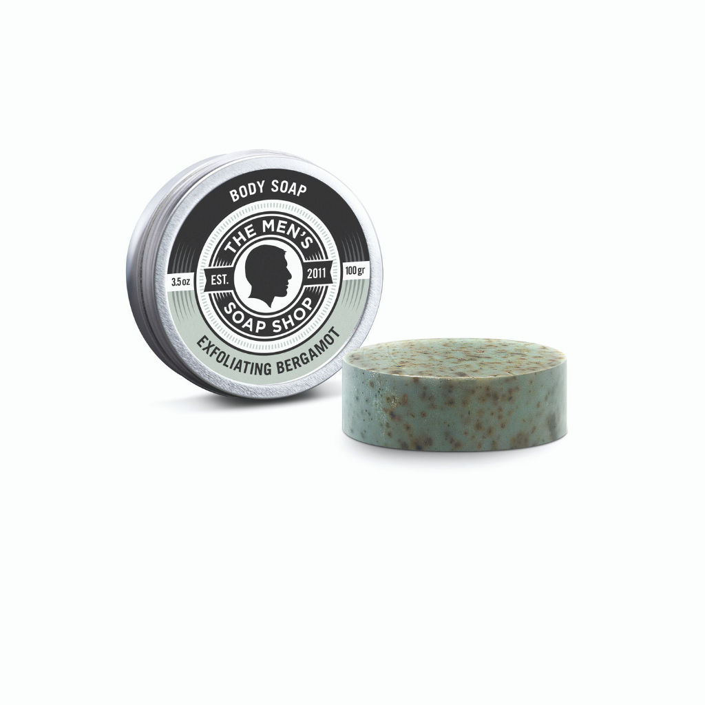 Body Soap Bergamot Exfoliating - The Men's Soap Shop