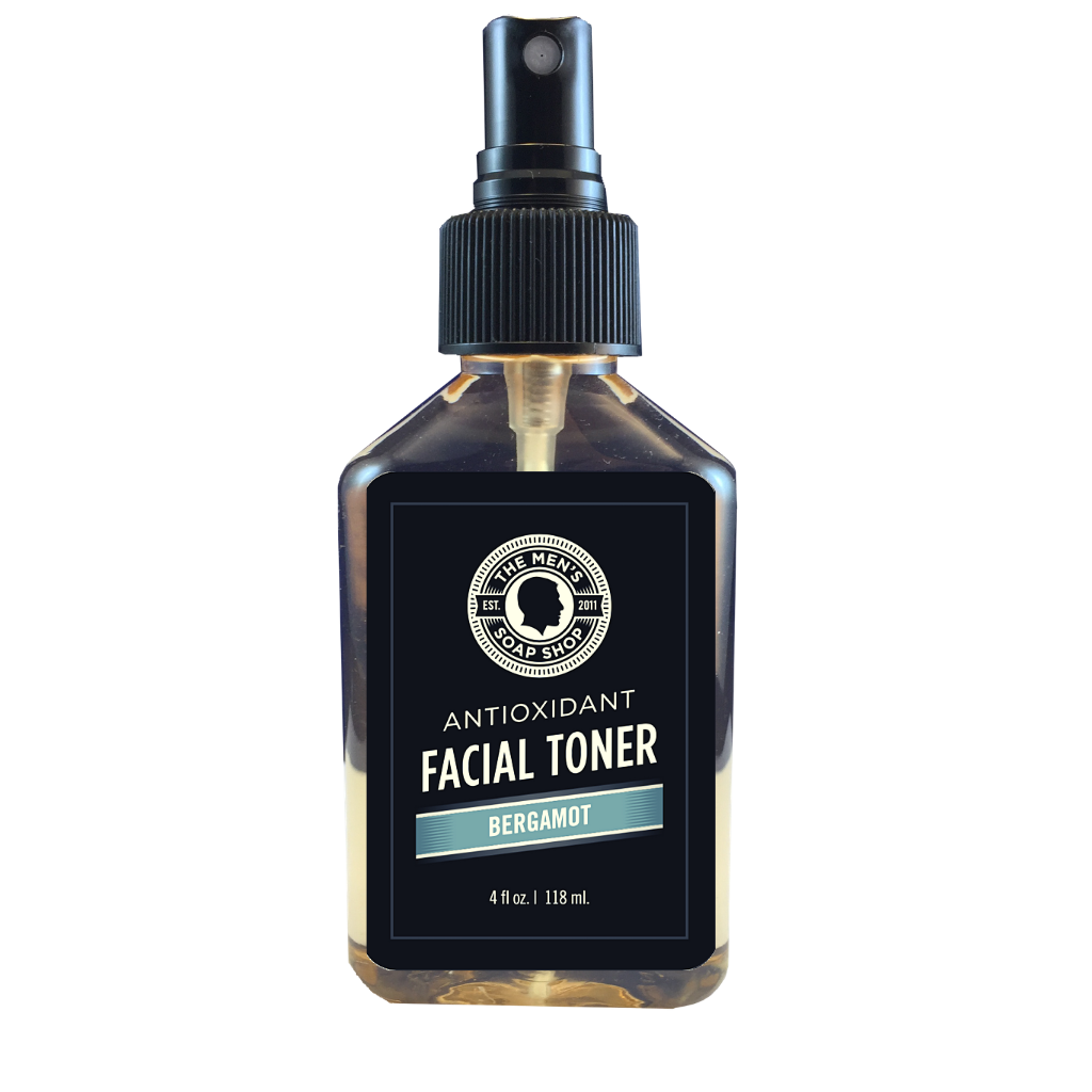 Antioxidant Facial Toner Bergamot - The Men's Soap Shop