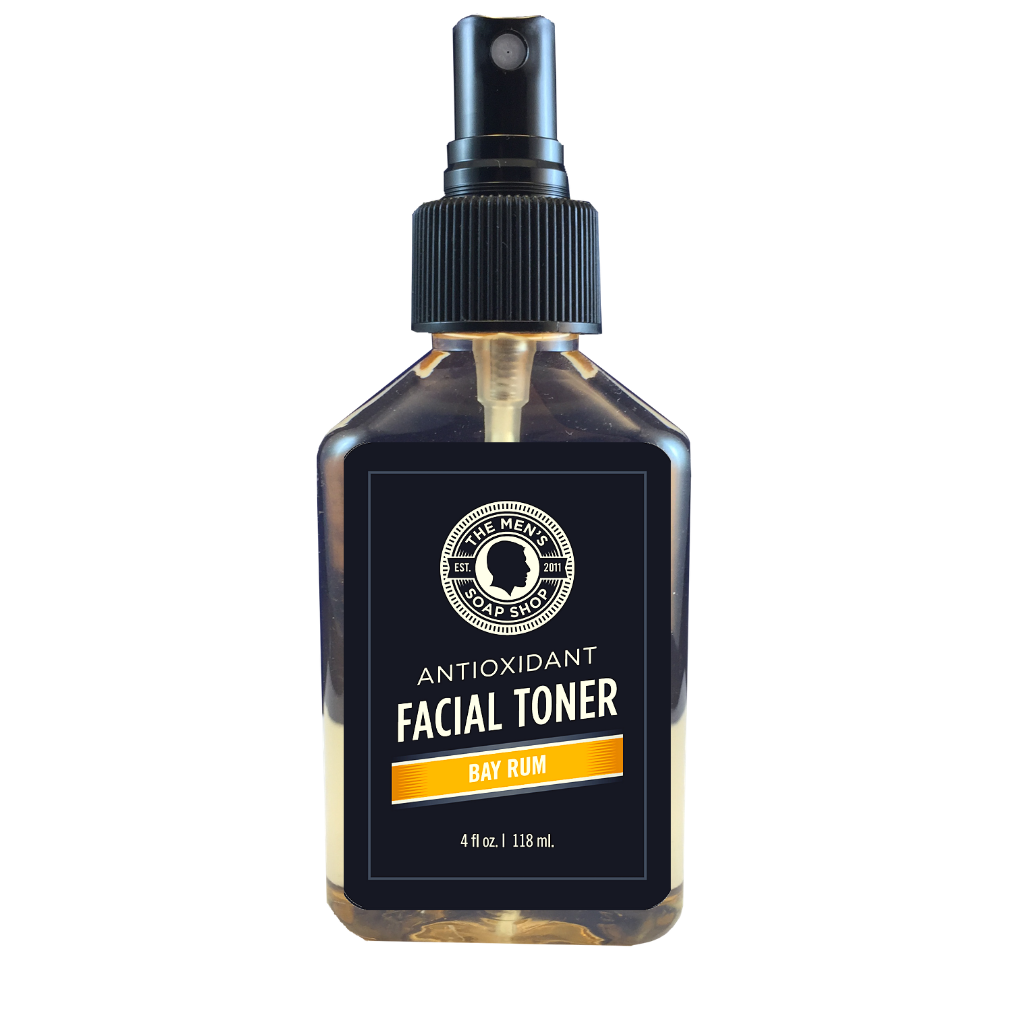 Antioxidant Facial Toner Bay Rum - The Men's Soap Shop