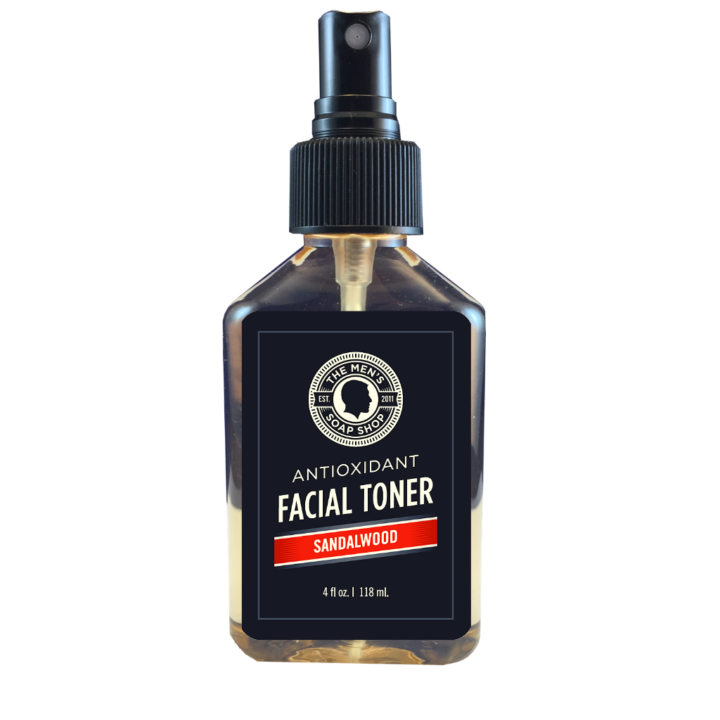Antioxidant Facial Toner Sandalwood - The Men's Soap Shop