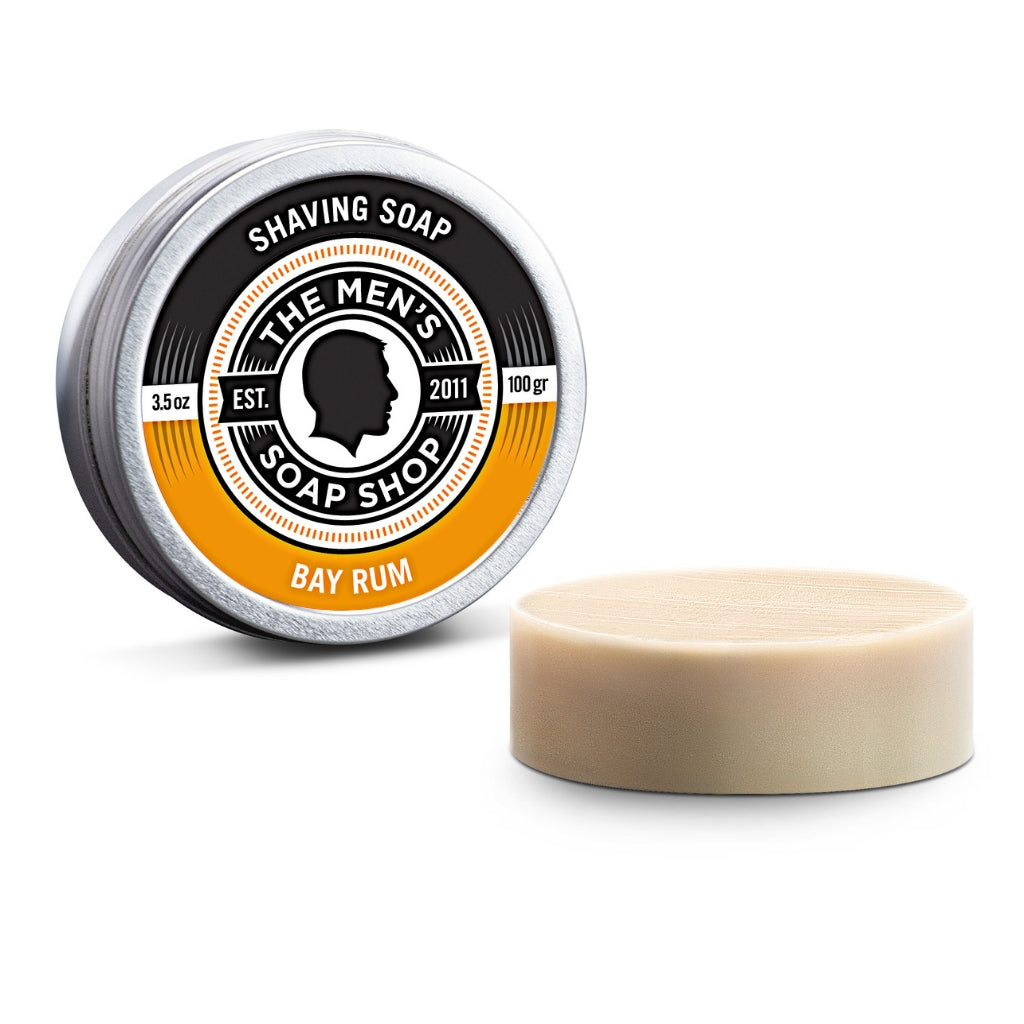 Shaving Soap Bay Rum - The Men's Soap Shop
