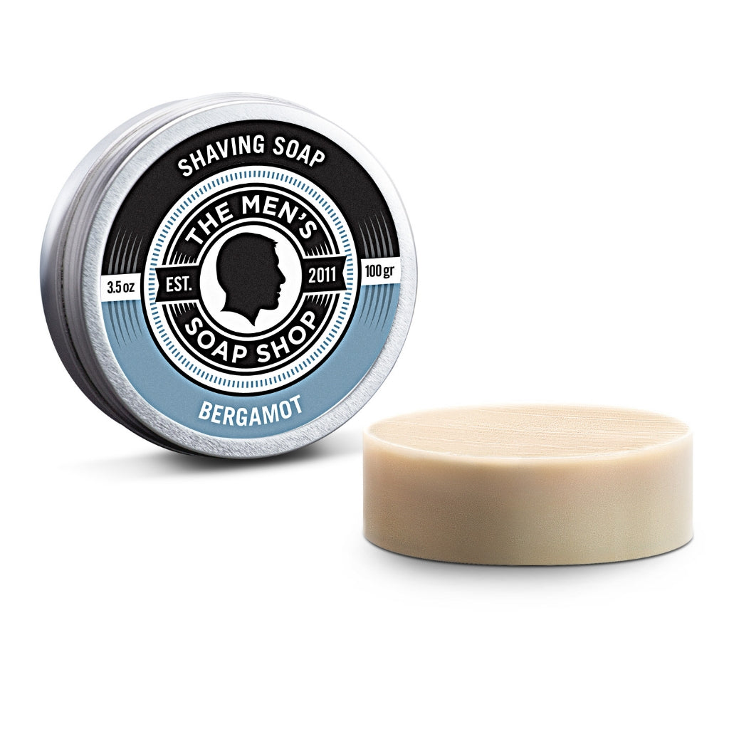 Shaving Soap Bergamot - The Men's Soap Shop