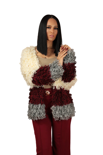 It Girl Shaggy Cardigan - BySonyaMarie.com