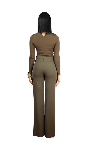 Lion High Waisted Trousers - BySonyaMarie.com