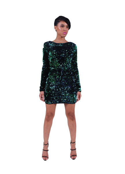 'Glitz' Sequin Bodycon Dress - BySonyaMarie.com