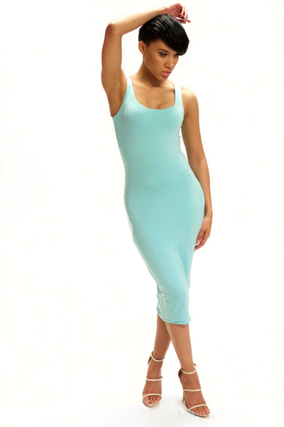Hourglass Tank Midi Dress - BySonyaMarie.com