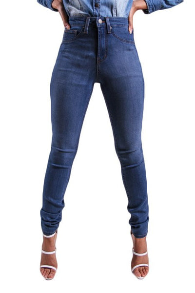 Jeans - True Blue High Waisted Denim