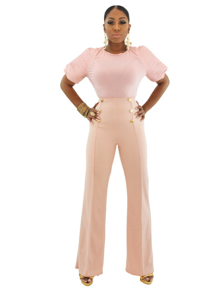 Sailor High Waist Trousers - BySonyaMarie.com