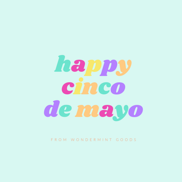 Party at Home this Cinco de Mayo!