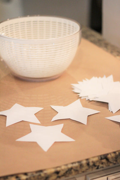 Paper Stars, Memorial Day Craft, Star Banner DIY