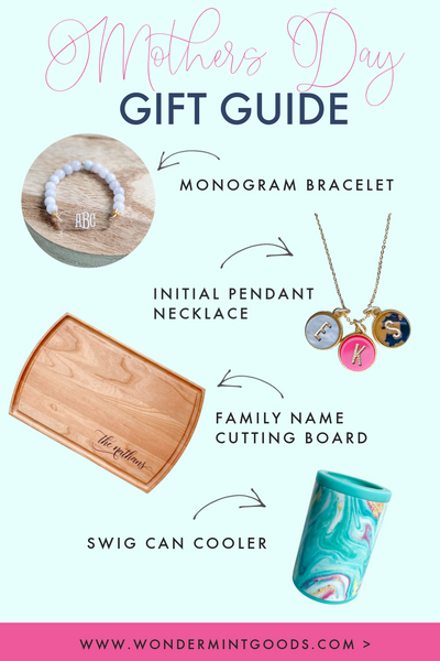 Mothers Day Gift Guide Wondermint Goods