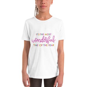 Multicolor - It's the most wonderful time of the year - Youth Short Sleeve T-Shirt