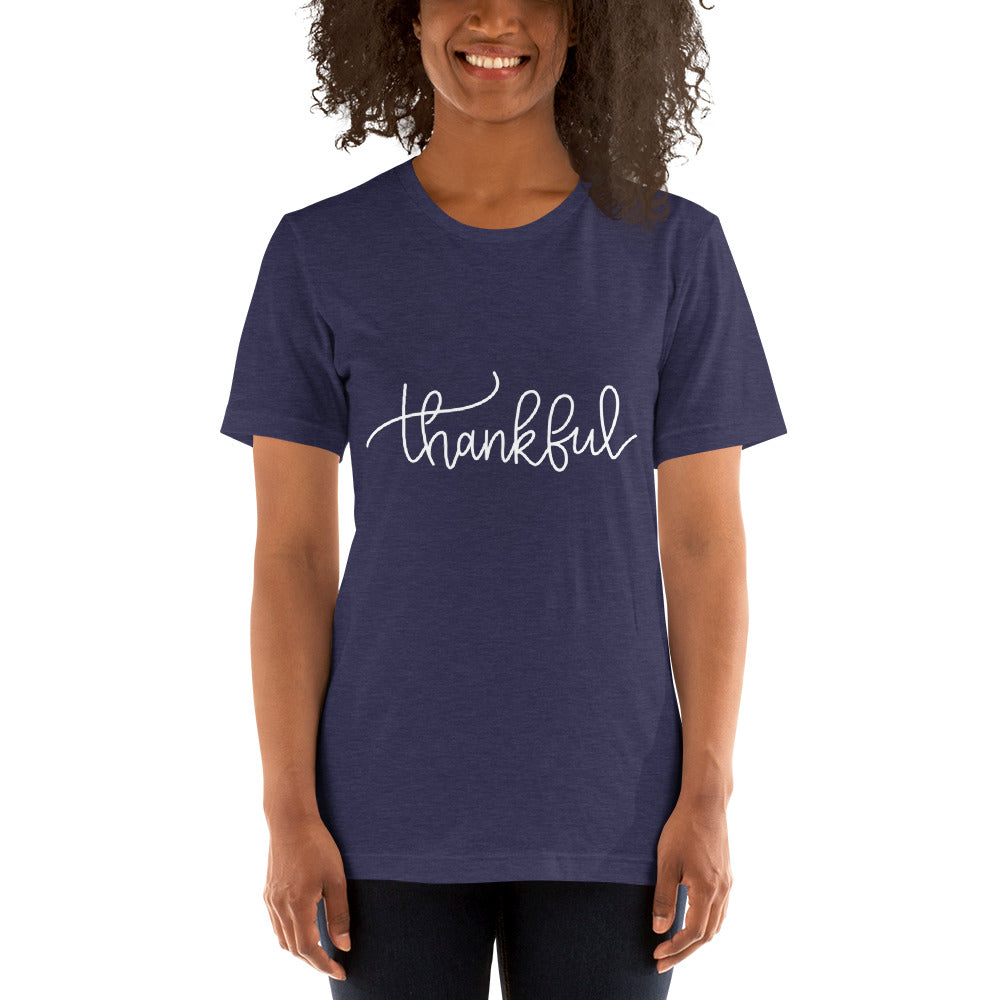 Thankful Short Sleeve Unisex Shirt