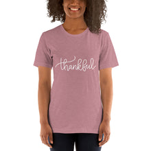 Load image into Gallery viewer, Thankful Short Sleeve Unisex Shirt