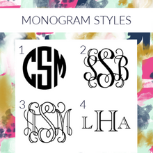 Load image into Gallery viewer, Monogram Acrylic Keychain - Wondermint Goods