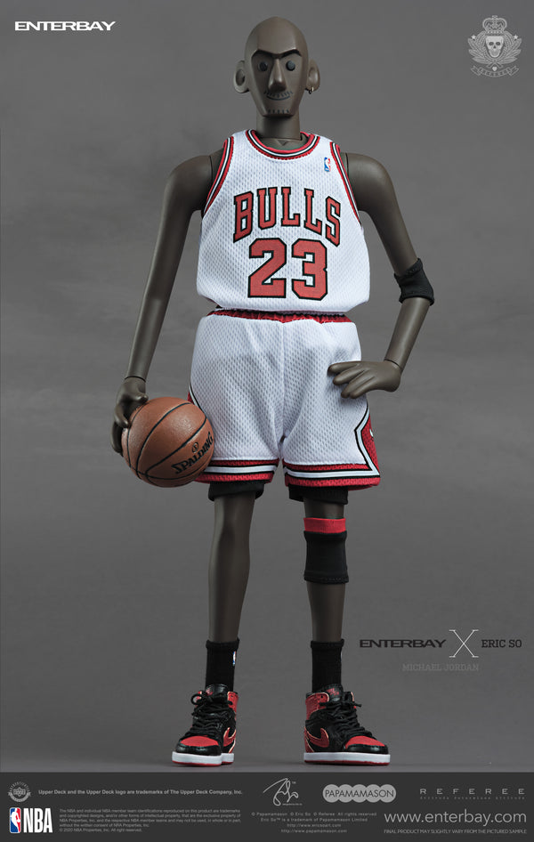 1/6 ENTERBAY X ERIC SO MICHAEL JORDAN - LIMITED EDITION (HOME)