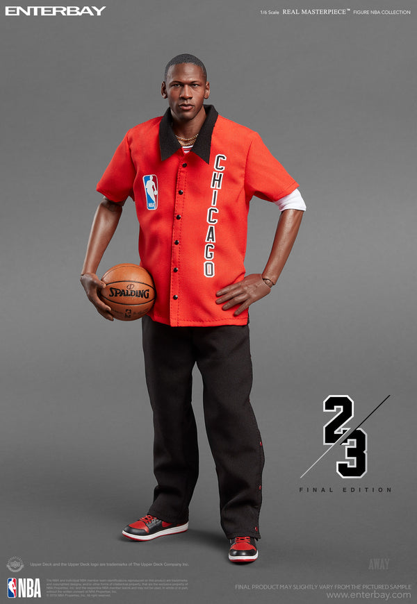 1/6 Real Masterpiece - NBA Collection Michael Jordan Action Figure- Away (Final Limited Edition)