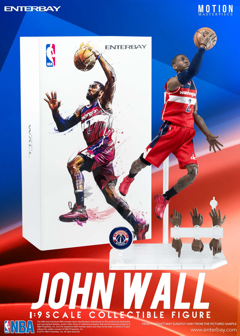 1/9 John Wall Action Figure PRE-ORDER