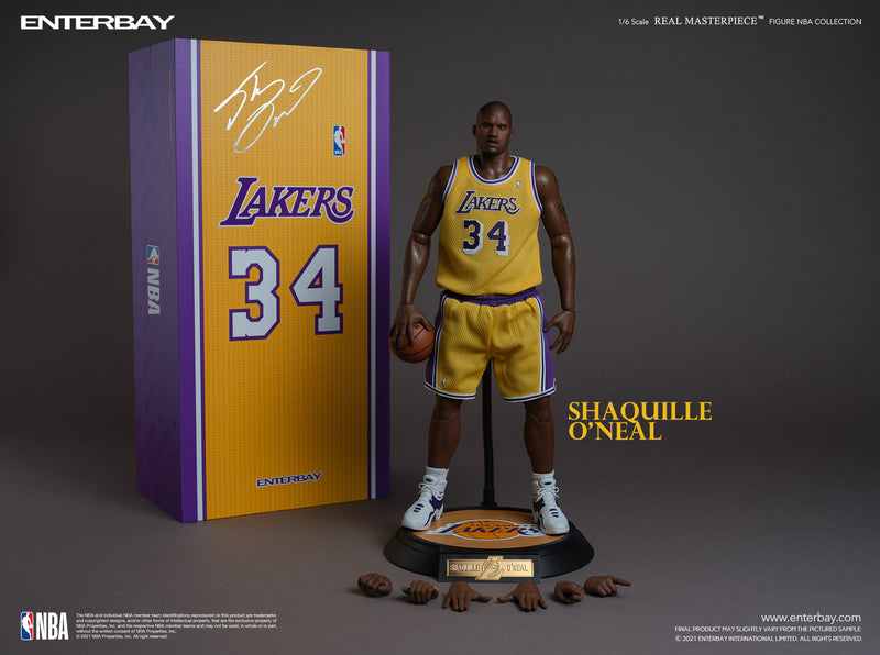 1/6 Real Masterpiece NBA Collection - Shaquille O'Neal Action Figure