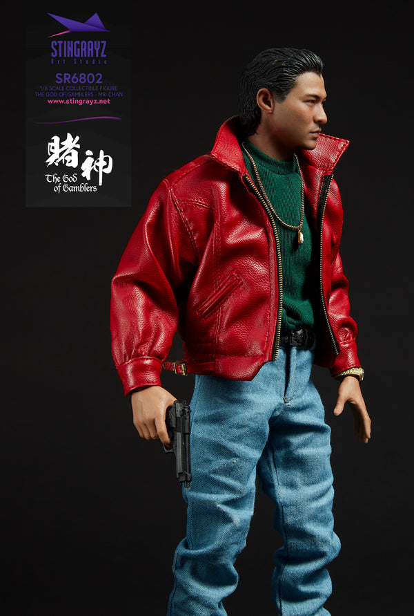 STINGRAYZ 1/6 LITTLE KNIFE, God of Gamblers Action Figure