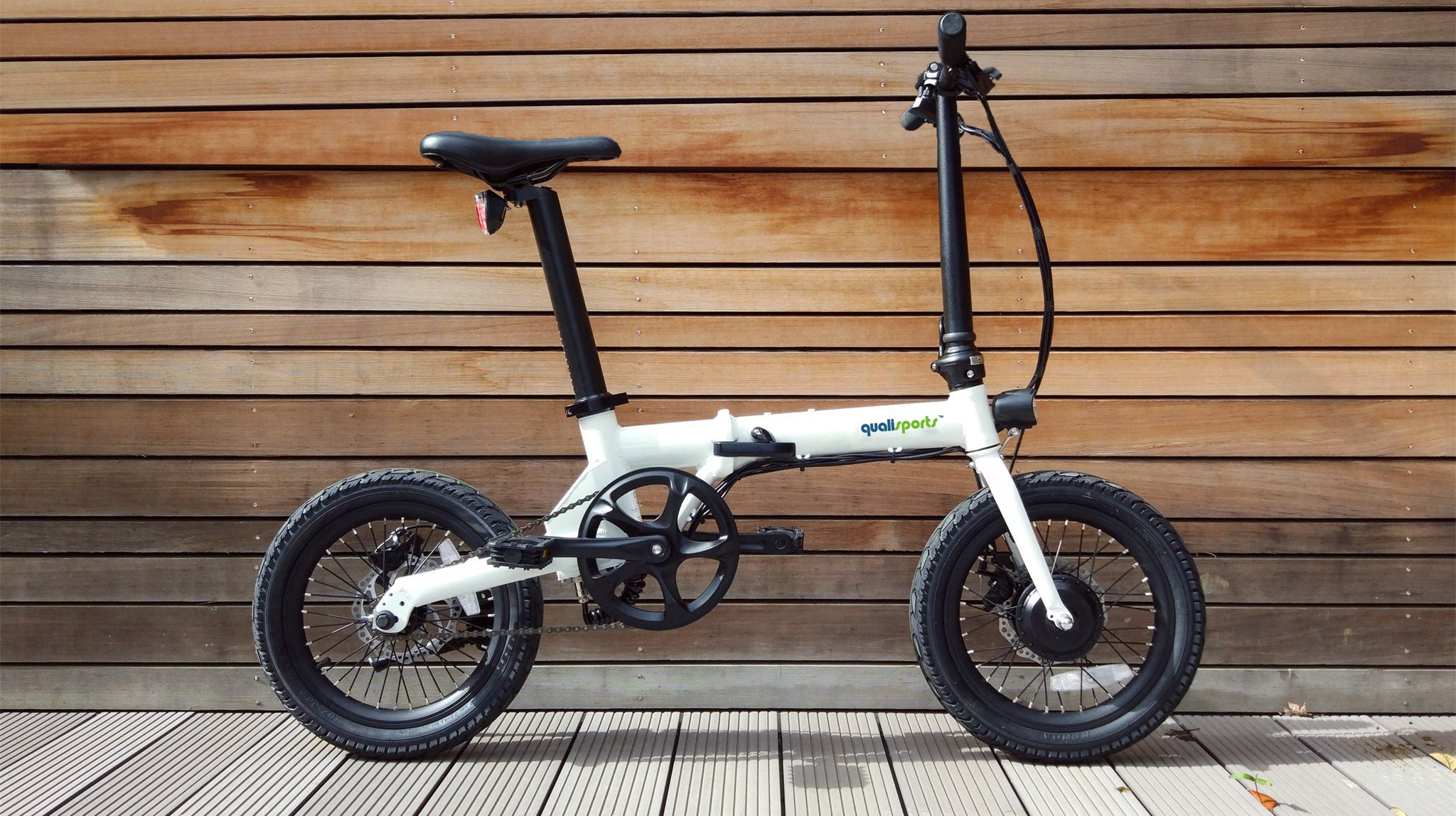 Folding Electric bike by Qualisports Nemo