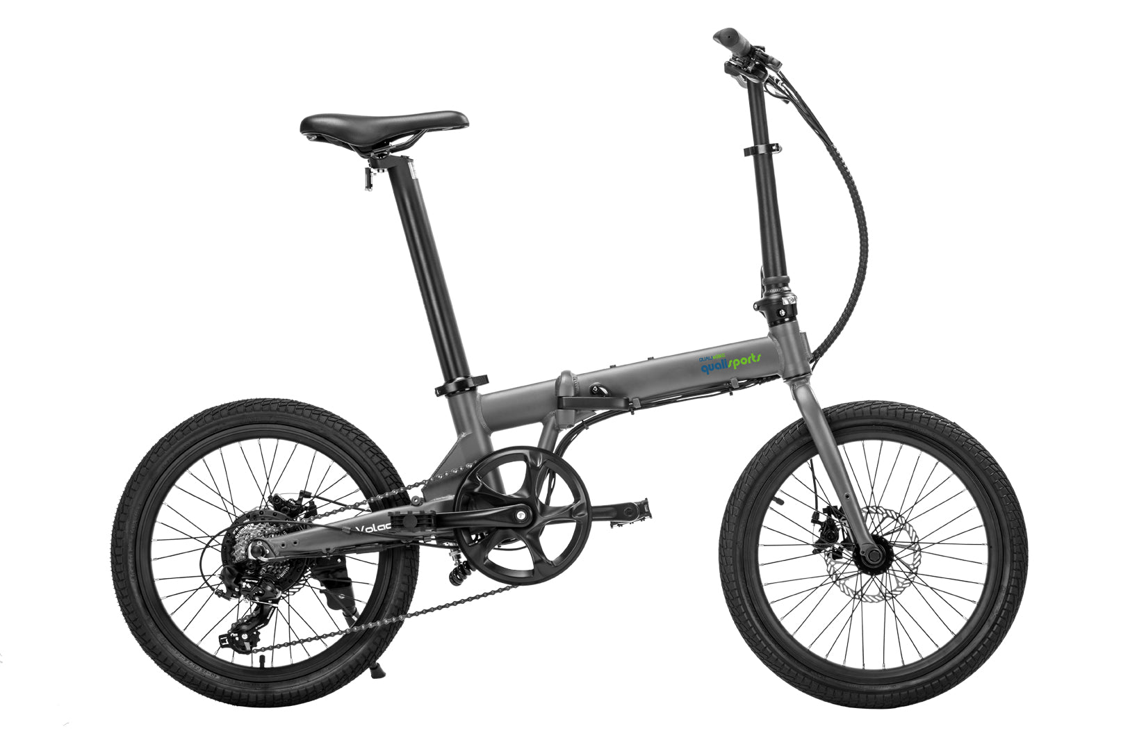 20inch-Silver-Folding-Electric-Bike-On-Sale-By-Qualisports-Volador