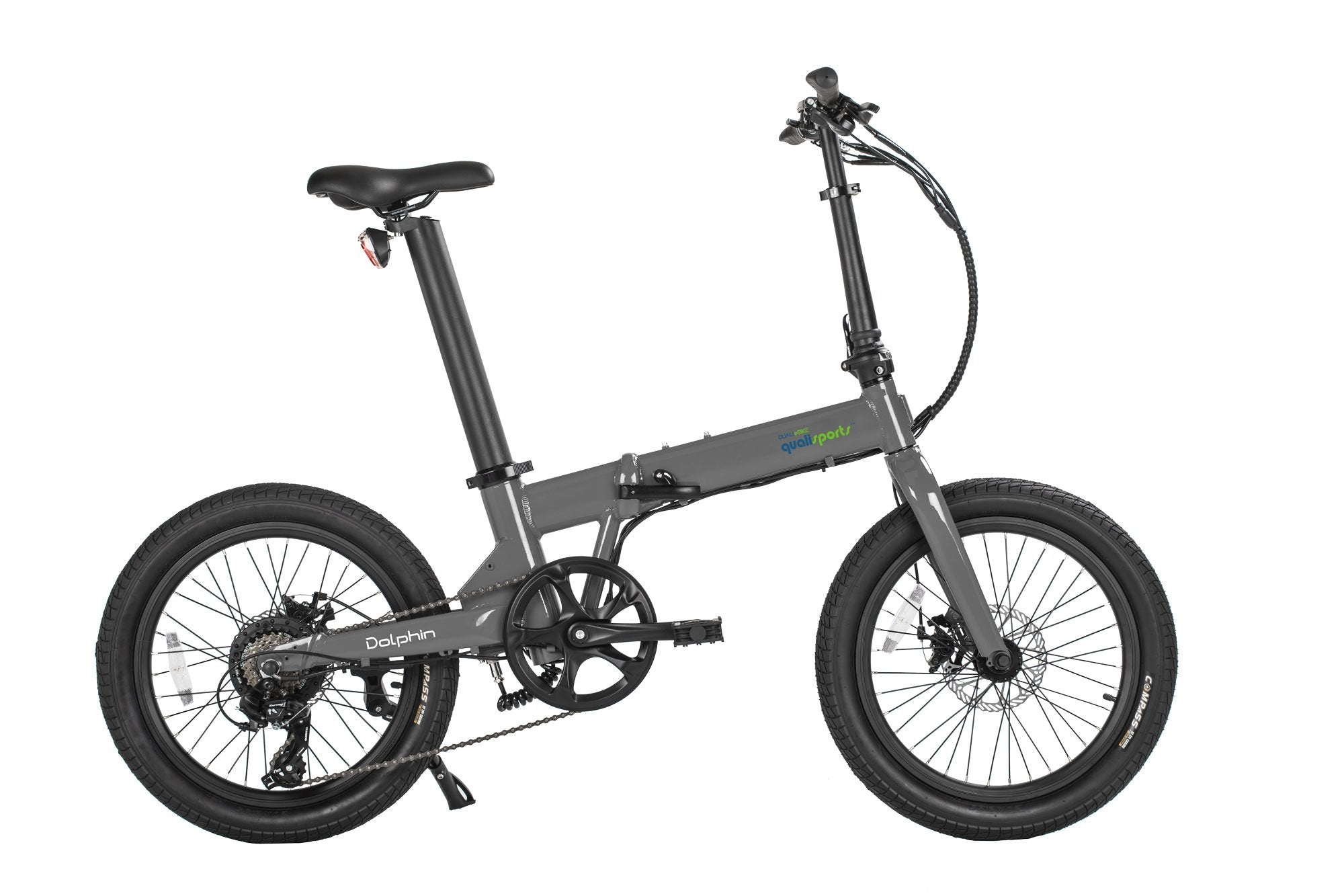 20inch-Silver-Wider-Tire-Folding-Electric-Bike-On-Sale-By-Qualisports-Dolphin