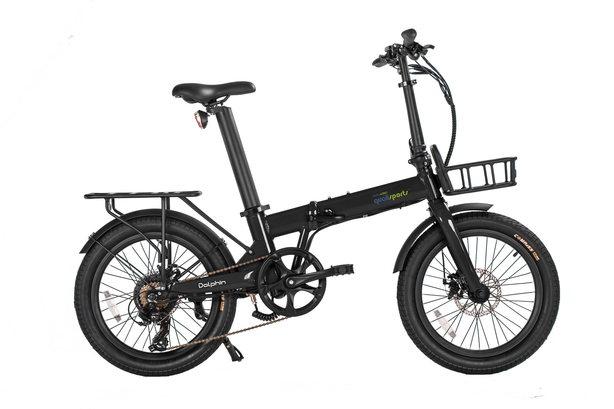 20inch-Folding-Electric-Bike-Dolphin-Rear-Racks-by-Qualisports INC