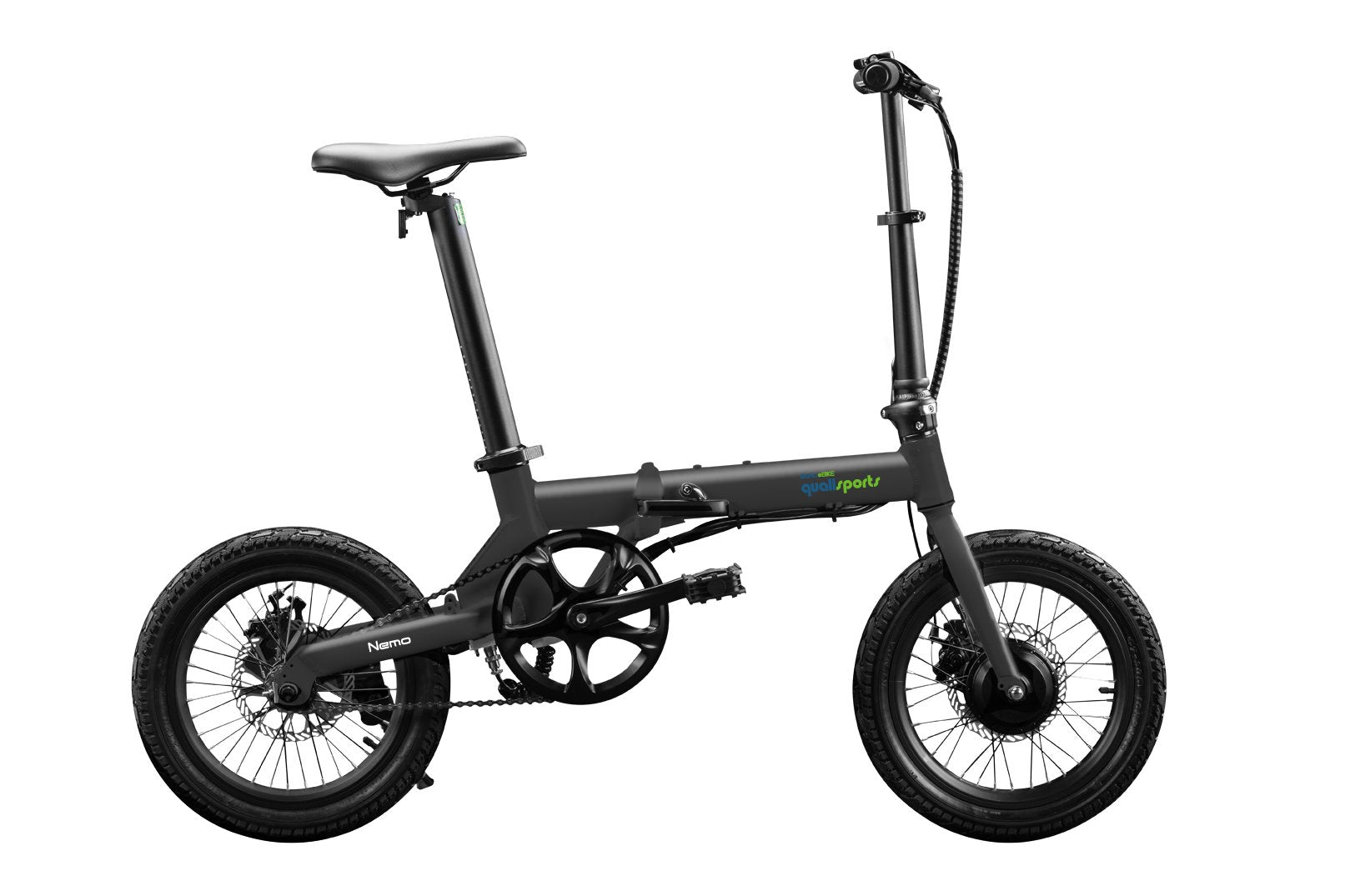 16inch-Black-Folding-Electric-Bike-On-Sale-By-Qualisports-Nemo
