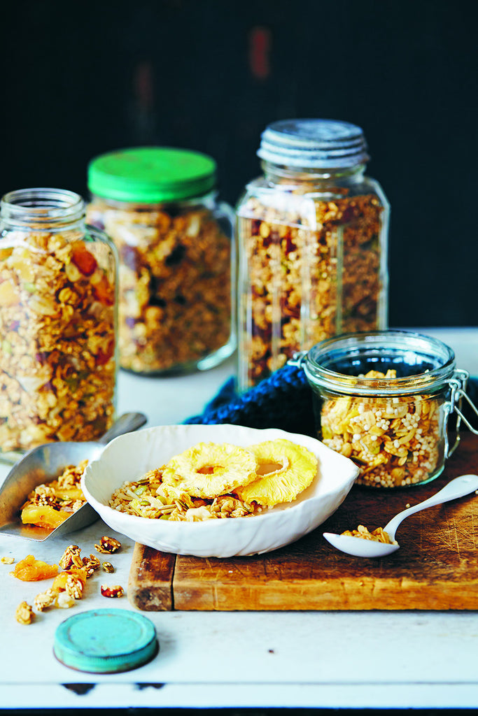 Pear, Hazelnut & Ginger Granola