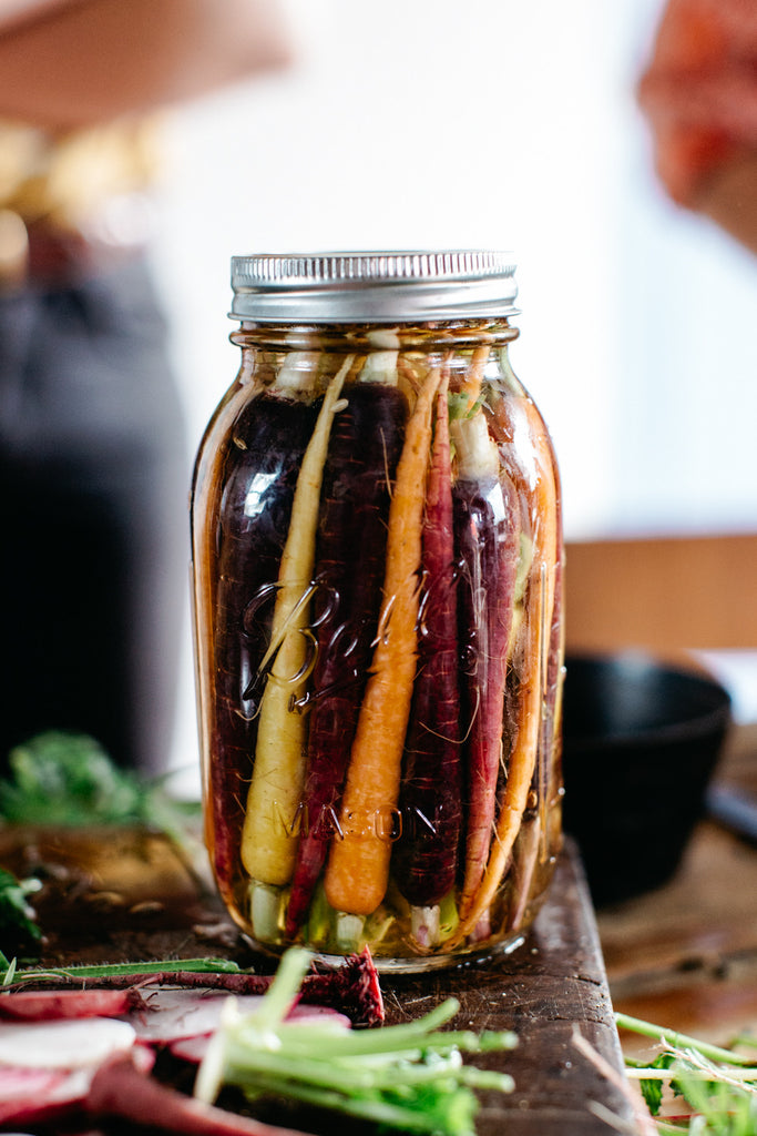 Fermented Heirloom Carrots