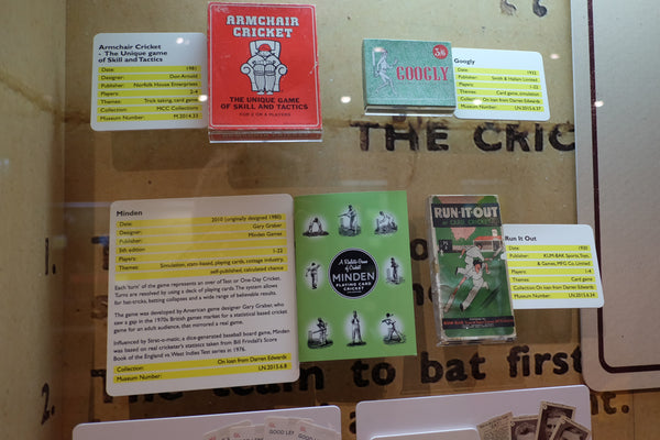Minden Cricket at Lords Board Game Exhibition