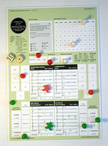 Minden Cricket Board Game - 5th Edition