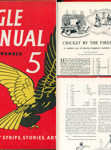 The Eagle Annual - Fireside Cricket Game