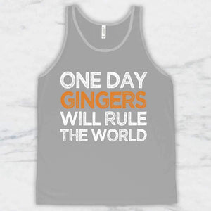 65ee76ce6 One Day Gingers Will Rule The World T-Shirt, Tank Top, Hoodie ...