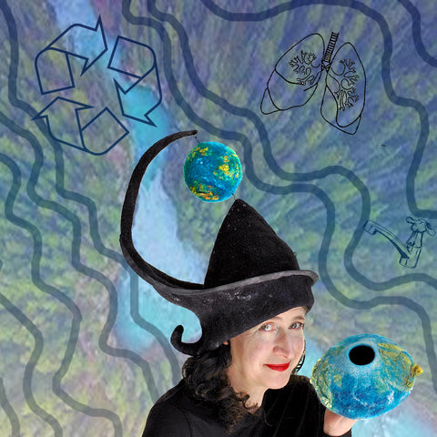 Earth Day 2020 Wizard Hat Collage