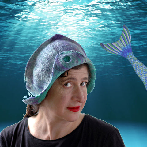 Mermaid Cloche under the sea