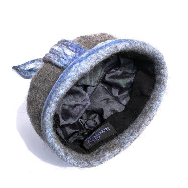 Bluegrey Pixie Hat - inside view