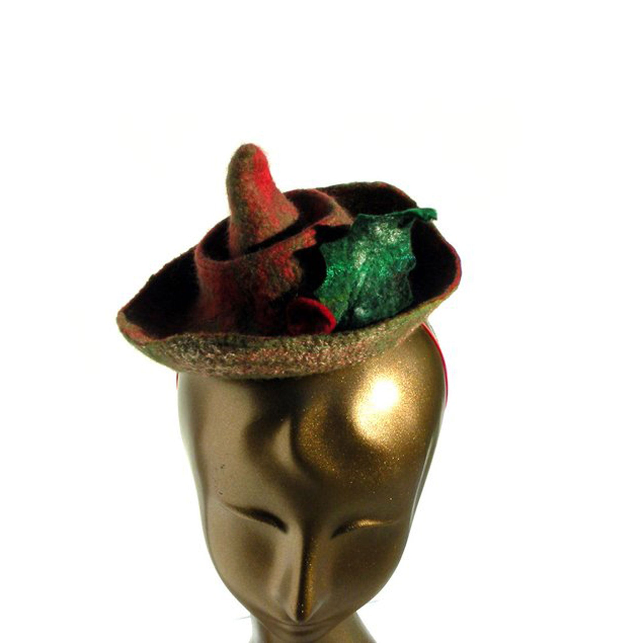 Christmas Elf Mini Hat