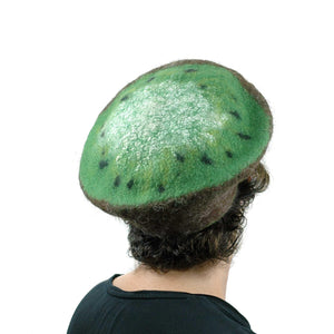 Cute Kiwi Hat in Small Size - back view