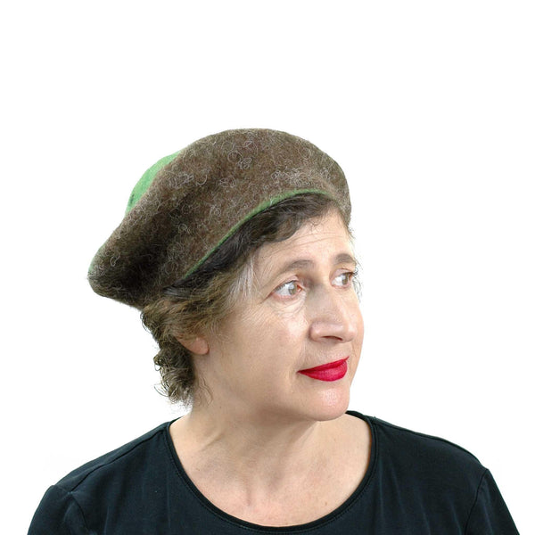 Cute Kiwi Hat in Small Size - threequarters view