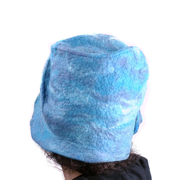 Dusty Blue Cloche -back view